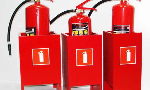 количество огнетушителей на объекте