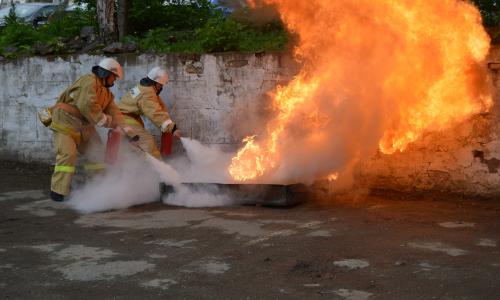 Пожарная безопасность на химическом предприятии