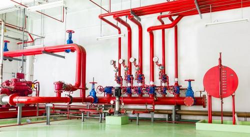 обслуживание систем водяного пожаротушения